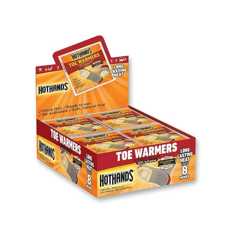 HotHands Toe Warmers Winter Hiking and Camping Gear