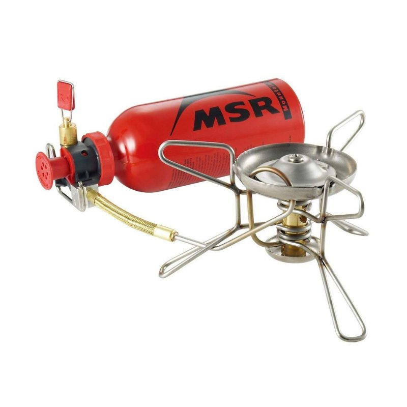MSR WhisperLite Portable Stove Winter Camping Essentials