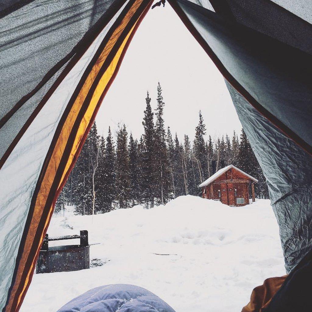 winter activities in Alaska winter camping in denali