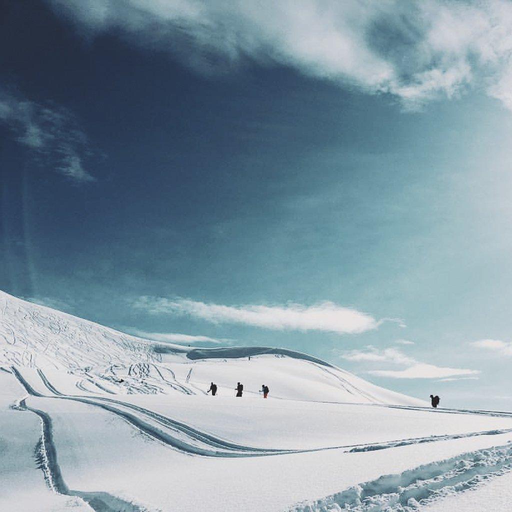 alaska backcountry skiing winter