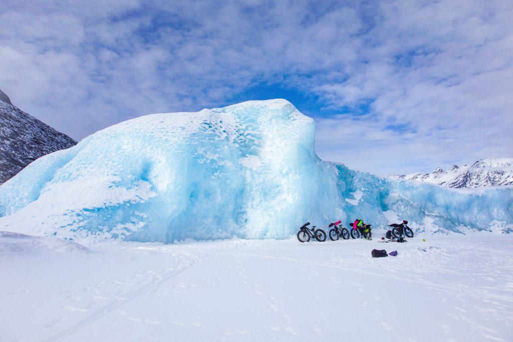 Alaska Knik Glacier Fat Bike