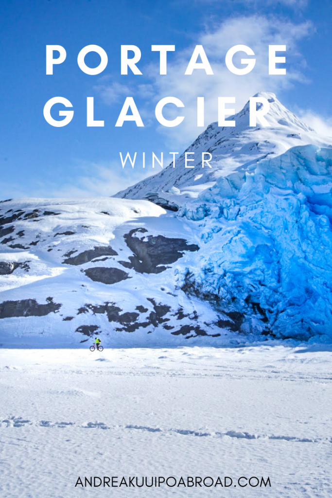 How to see Portage Glacier during winter in Alaska