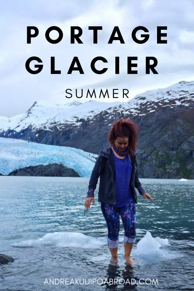 How to see Portage Glacier during summer in Alaska