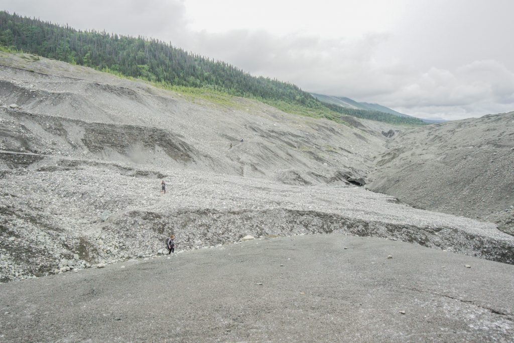 Hike Root Glacier Trail Wrangell St. Elias National Park Alaska