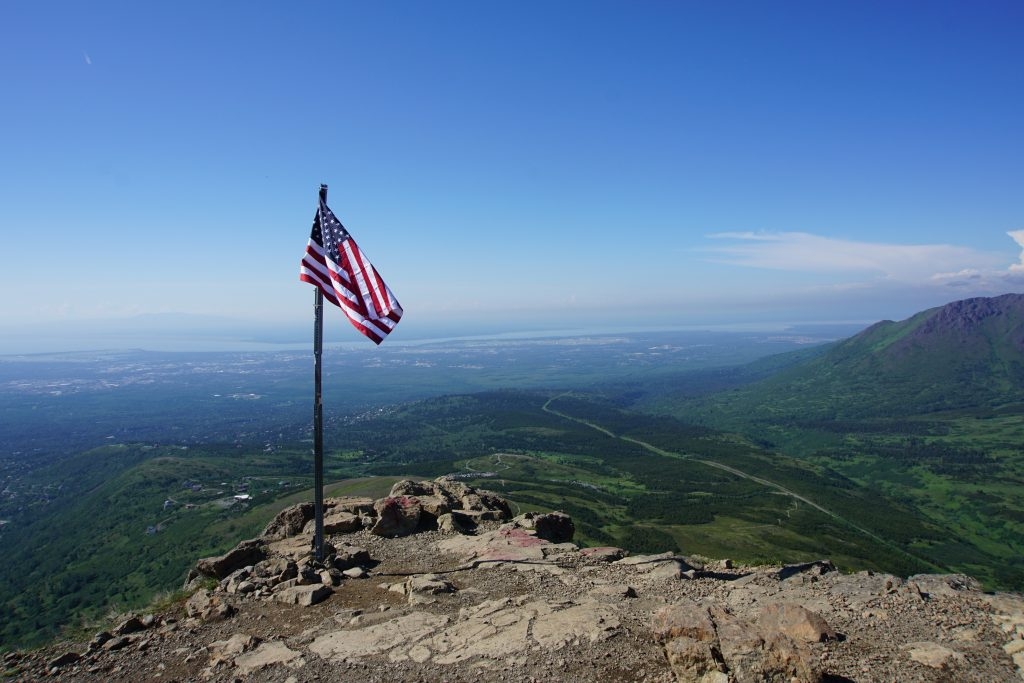 Staying Active in Anchorage Flattop Mountain hike