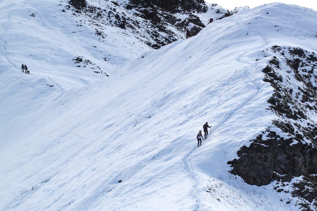 Rendezvous Ridge Ealge River Hikes Alaska