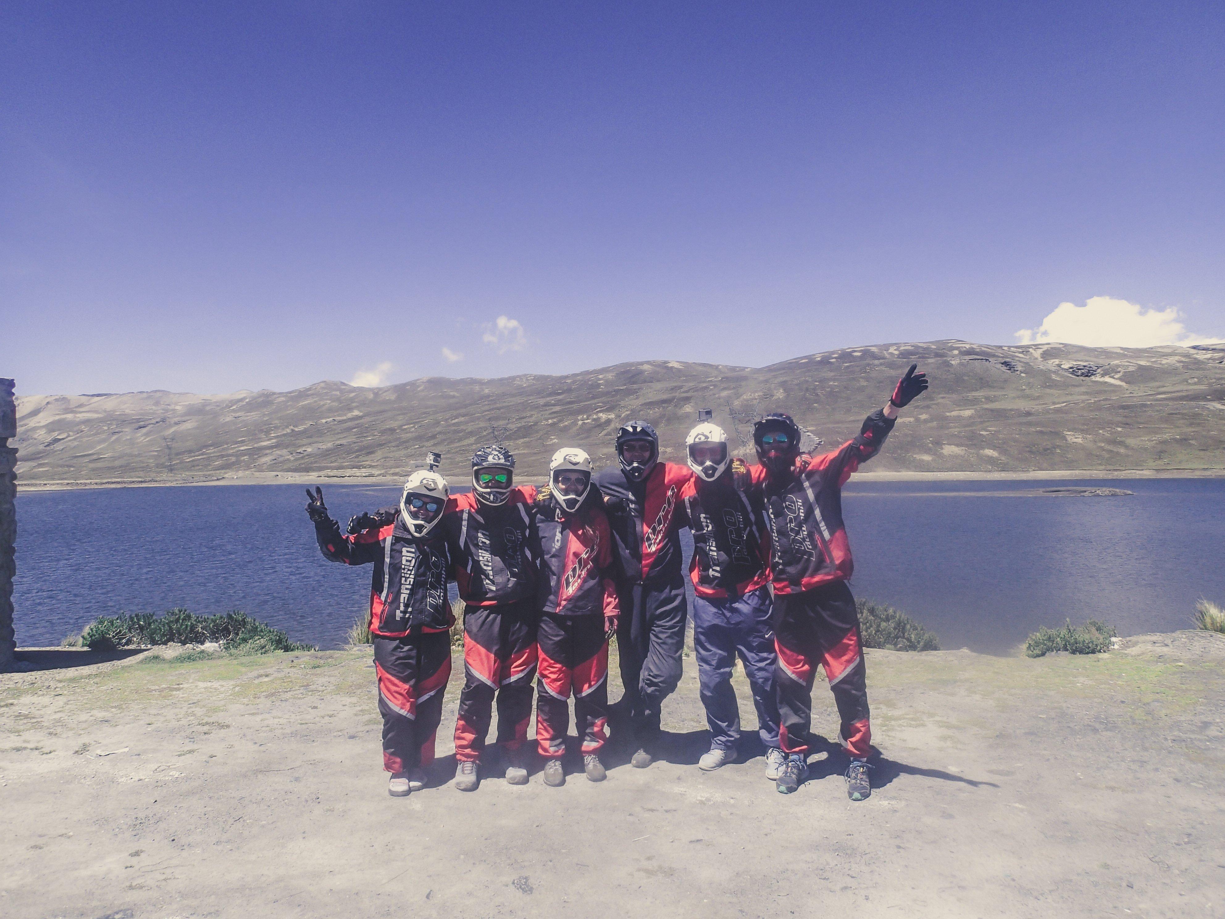 biking death road group