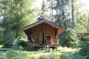 Upper Russian Lake Cabin Public Use Cabin in Alaska