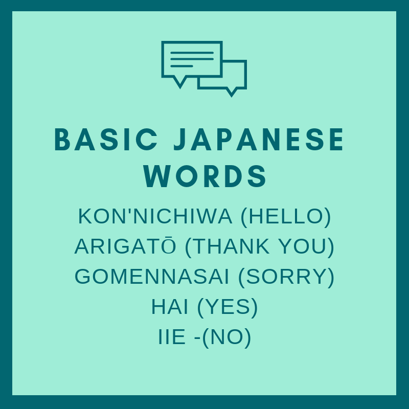 basic japanese words how to volunteer at the olympics Tokyo 2021
