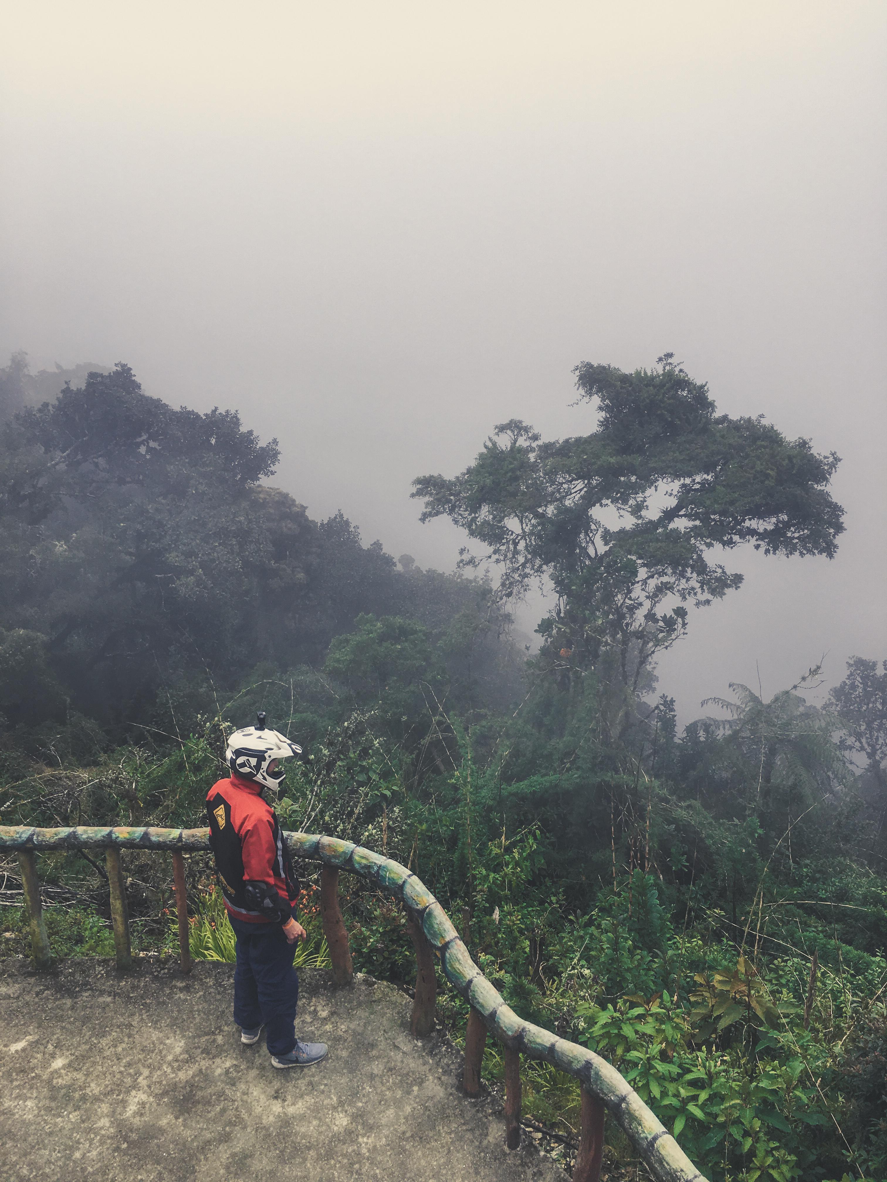 biking worlds most dangerous road bolivia cloud forest
