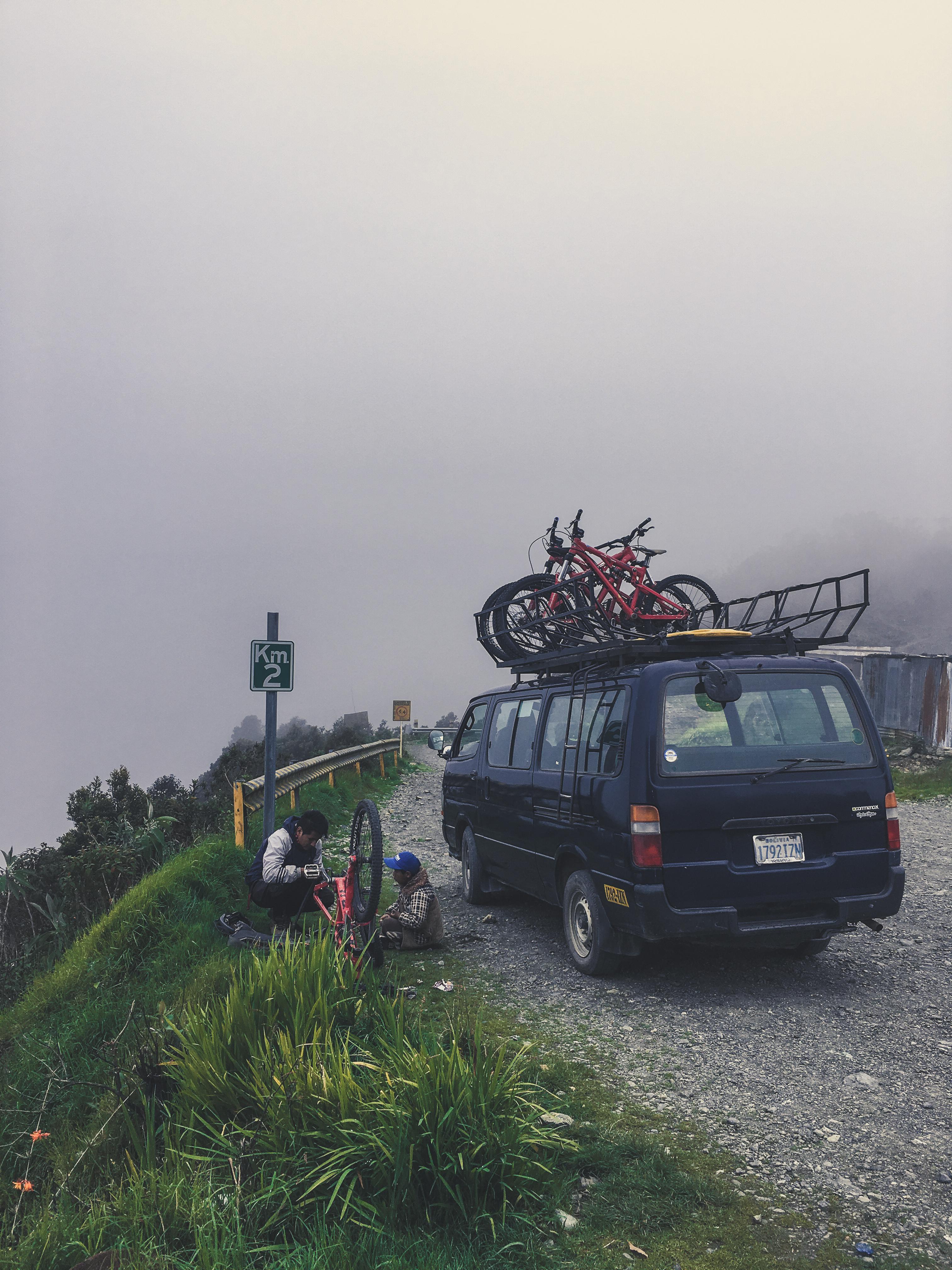 biking worlds most dangerous road bolivia
