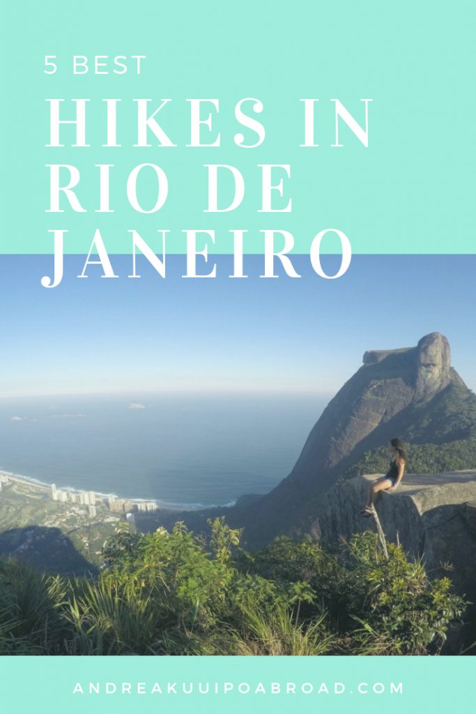 Rio de Janeiro is an amazing place to hike. Read about the 5 best hikes in rio de janeiro. #brazil #riodejaneiro #hiking #southamerica