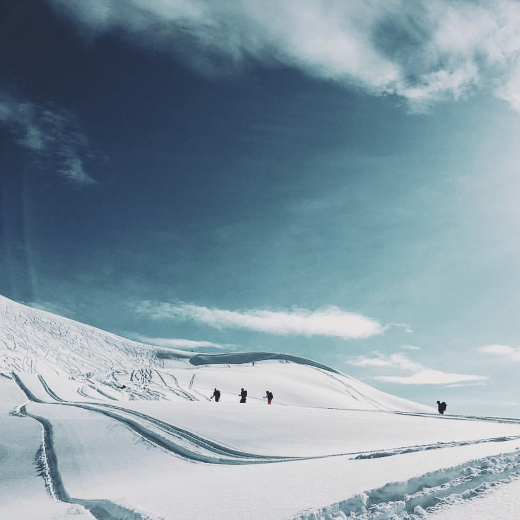 alaska backcountry skiing winter