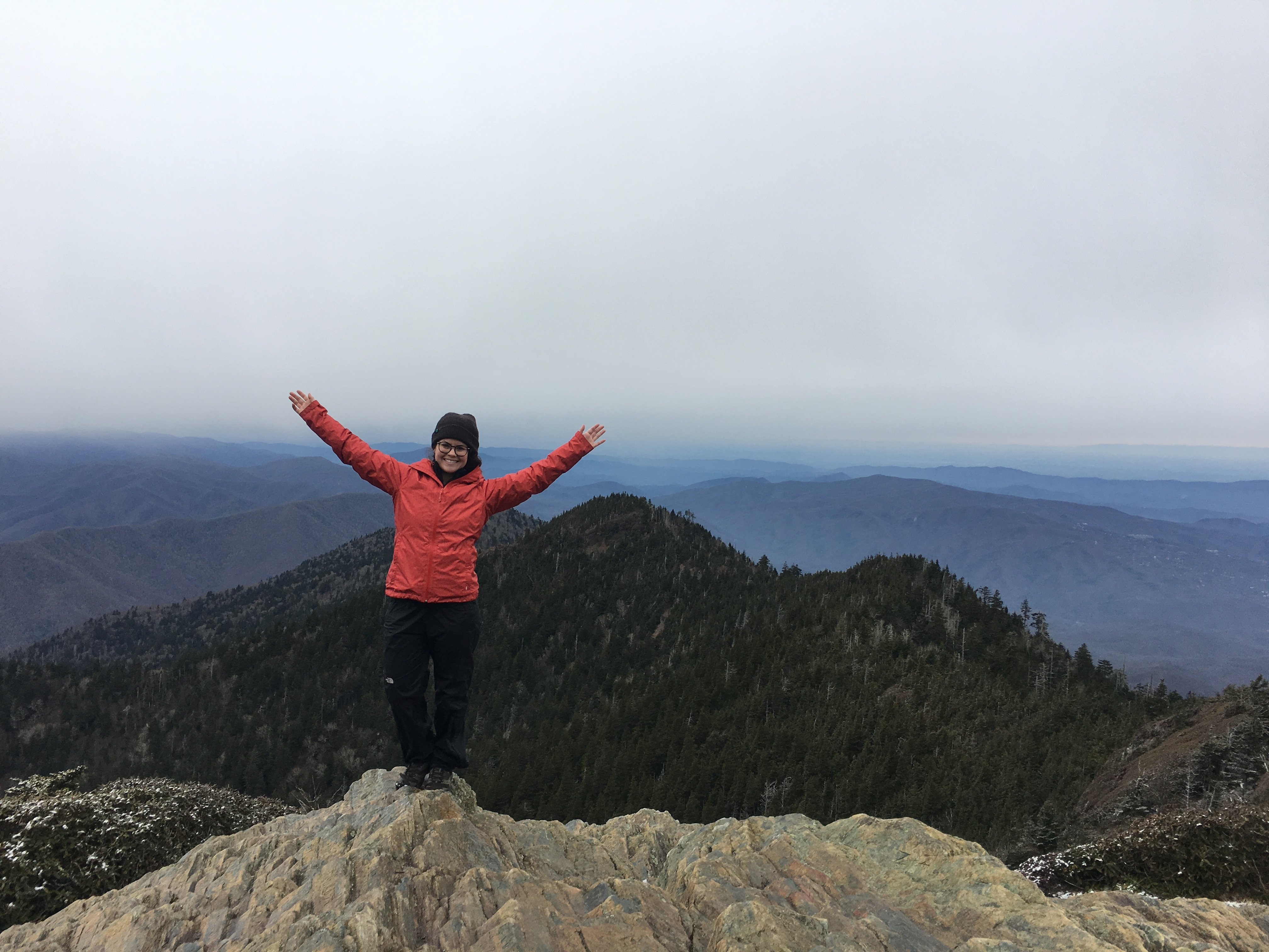 Hike Alum Cave Trail To Mt Leconte Andrea Kuuipo Abroad