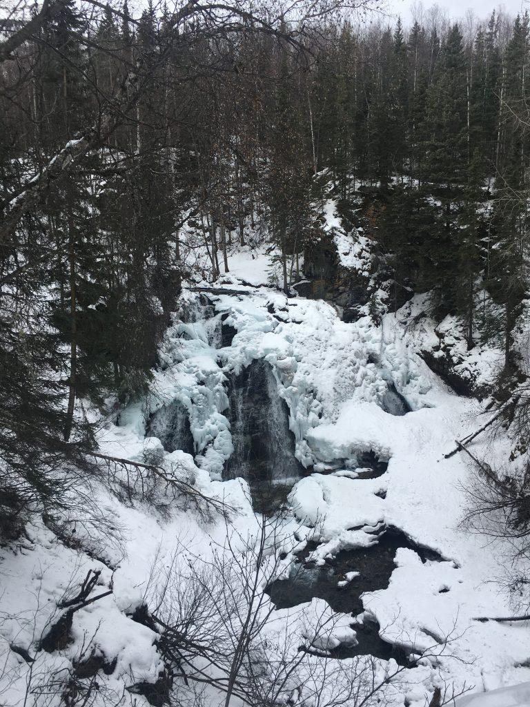Barbara Falls Upper Viewpoint South Fork Falls