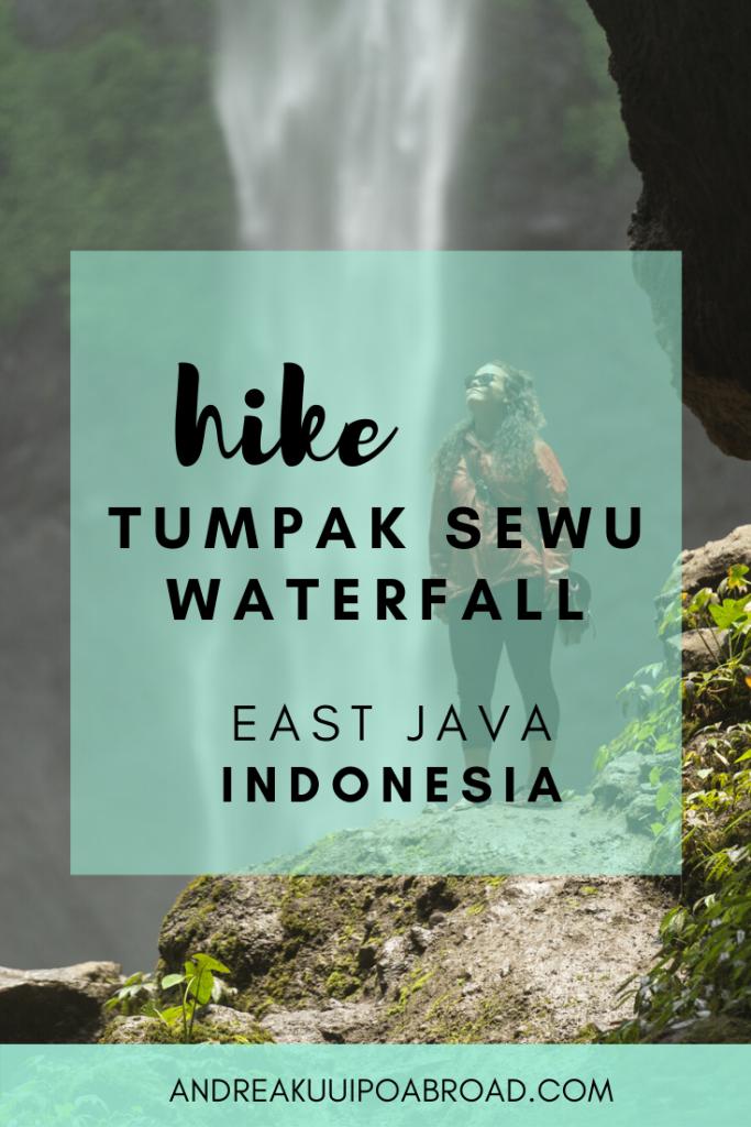 Hike Tumpak Sewu Waterfall in East Java, Indonesia