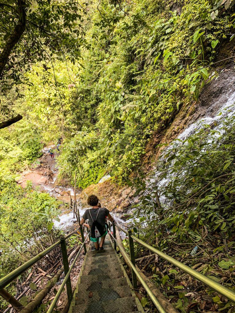 Tumpak Sewu Hike Steep