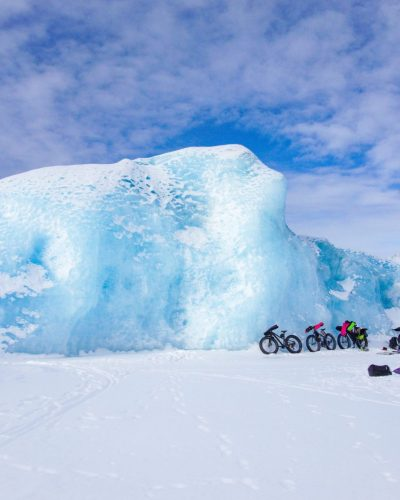 Knik Glacier Fat Bike Winter Trip