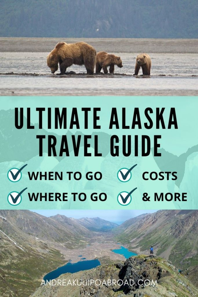 Get your Alaska Travel Tips with the Ultimate Alaska Travel Guide to help you plan your trip to #Alaska. Find out best time to go, where to go, costs, weather, ways to save, and more! #AlaskaTravelGuide