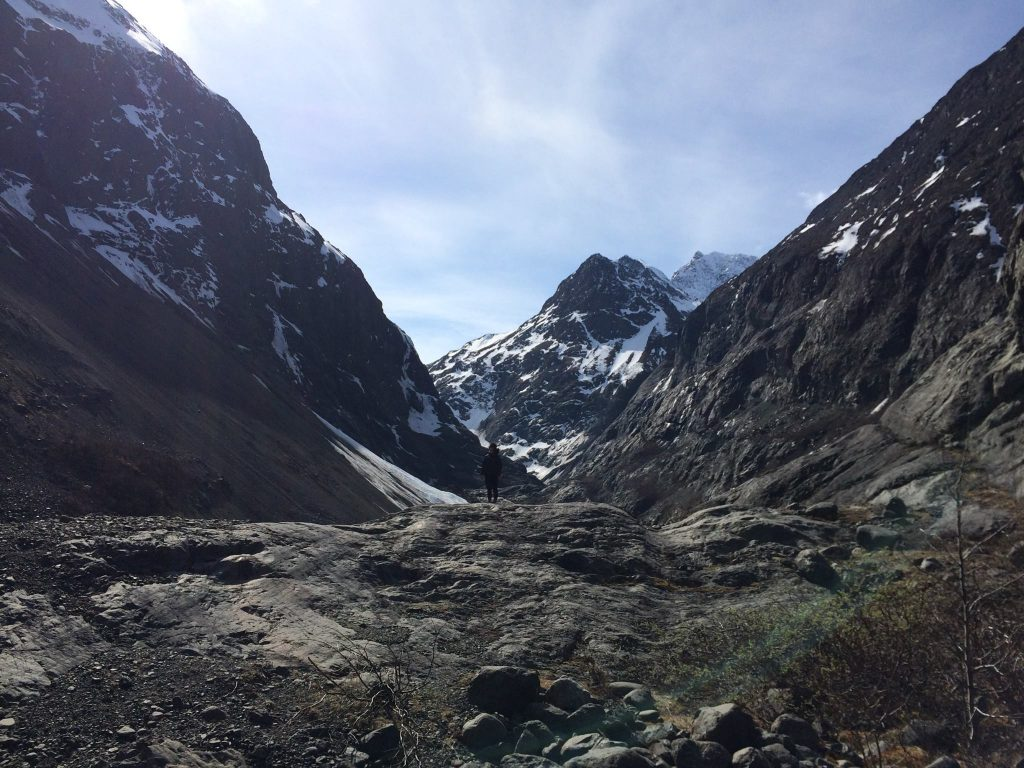 Eklutna Glacier Trail Alaska