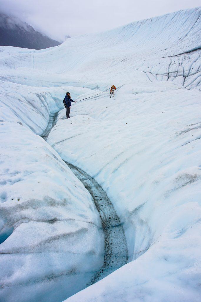 Hike Root Glacier Trail Kennecott