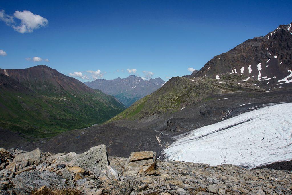 Glacier Hikes Near Anchorage, Raven Glacier, Crow Pass Trail