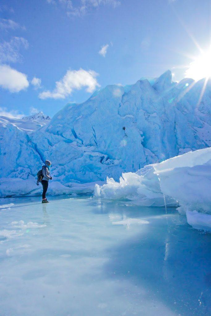 Portage Glacier Winter Hike