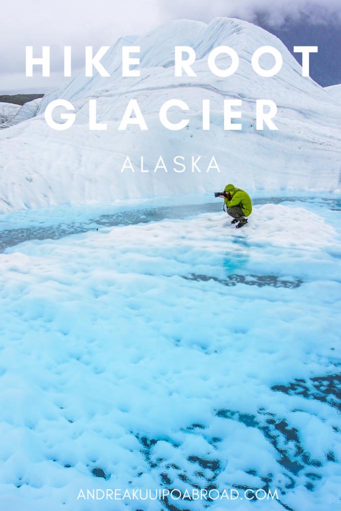Hike Root Glacier Kennecott Alaska
