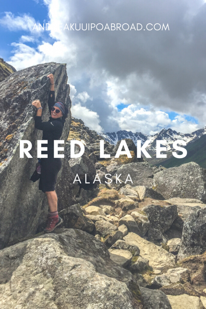 Hike Reed Lakes Trail in Hatcher Pass Alaska. Enjoy two beautiful alpine lakes on this 9 mile hike. #alaska #hiking #hatcherpass #alaskahike