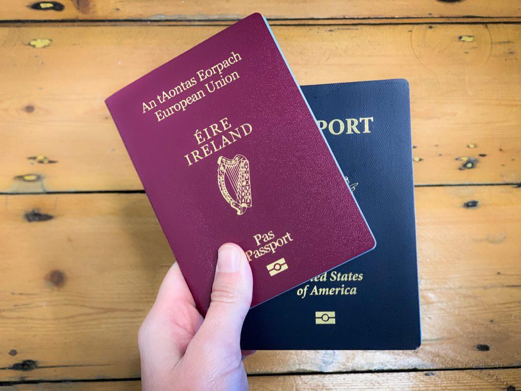 Irish American Dual Citizenship Passports