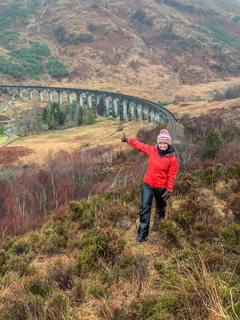 Glenfinnan Viaduct Harry Potter Scotland Highlands