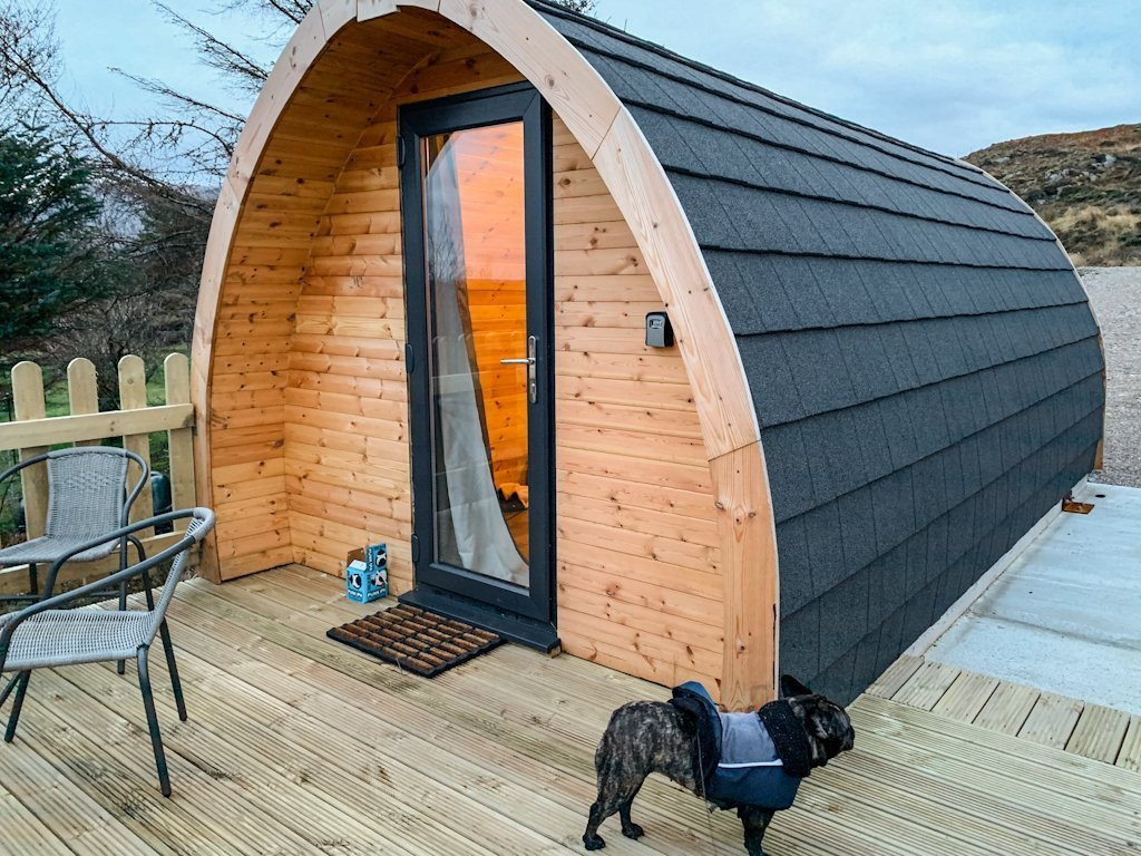 Arisaig Glamping Pod Scotland Highlands