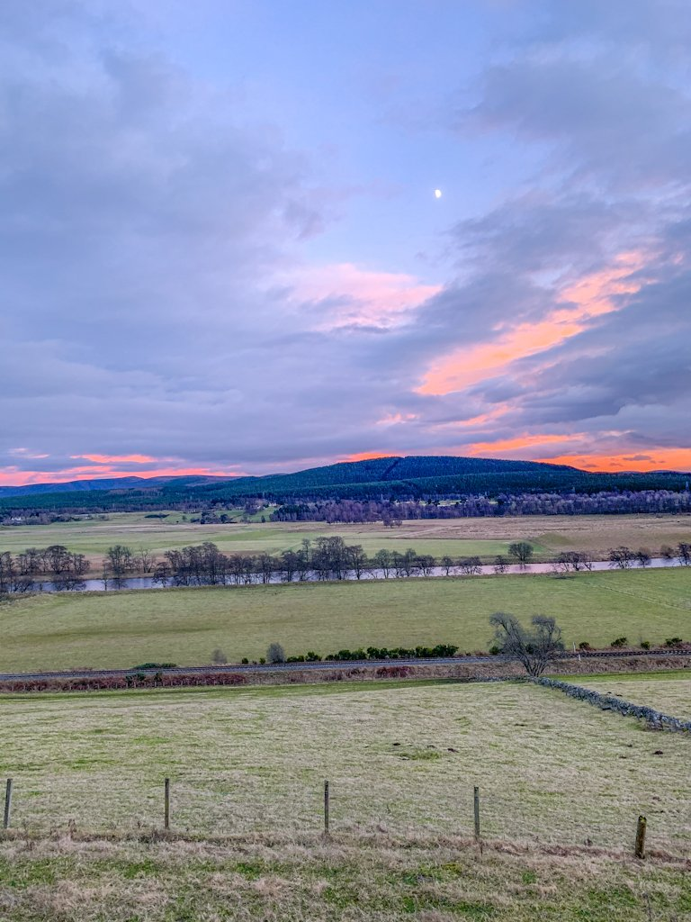 Cairngorms National Park Sunset