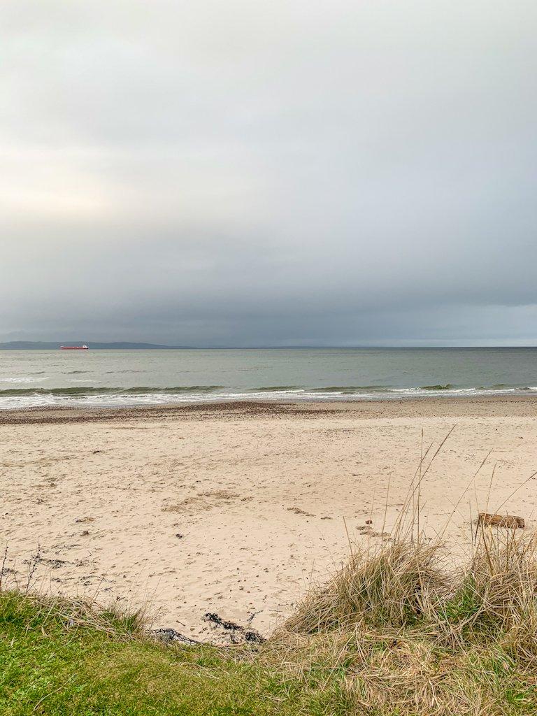 Nairn Beach Scotland