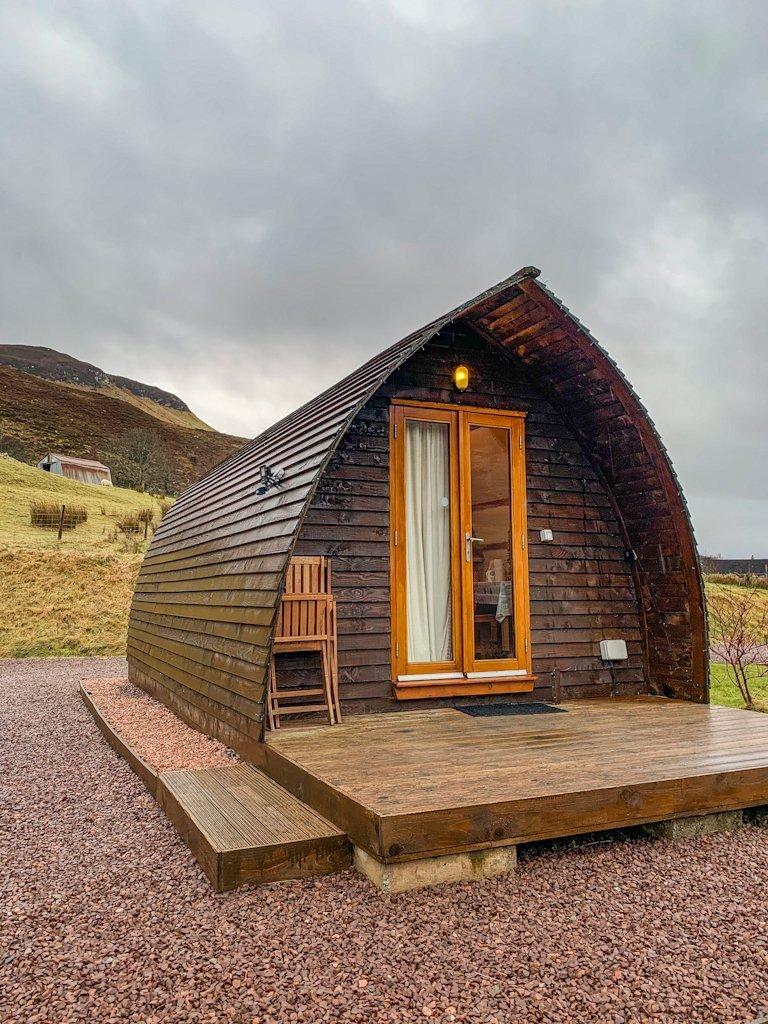 Dornie Glamping Pod Scotland