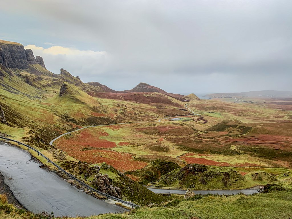 Quiraing Scotland Highlands Self Drive