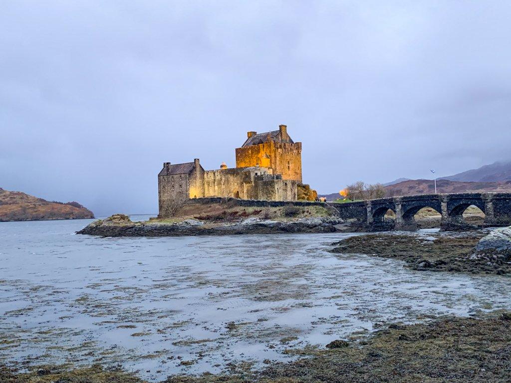 Eilean Donan Castle Dornie Scotland Highlands
