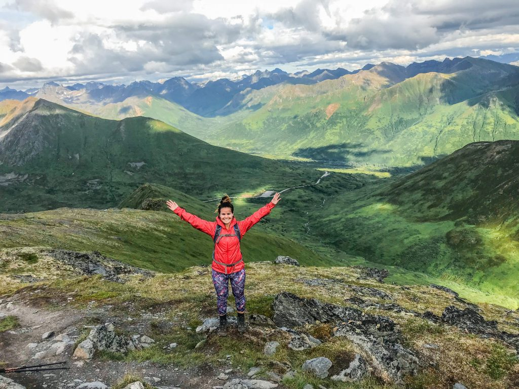 April Bowl Trail Hike Hatcher Pass Alaska