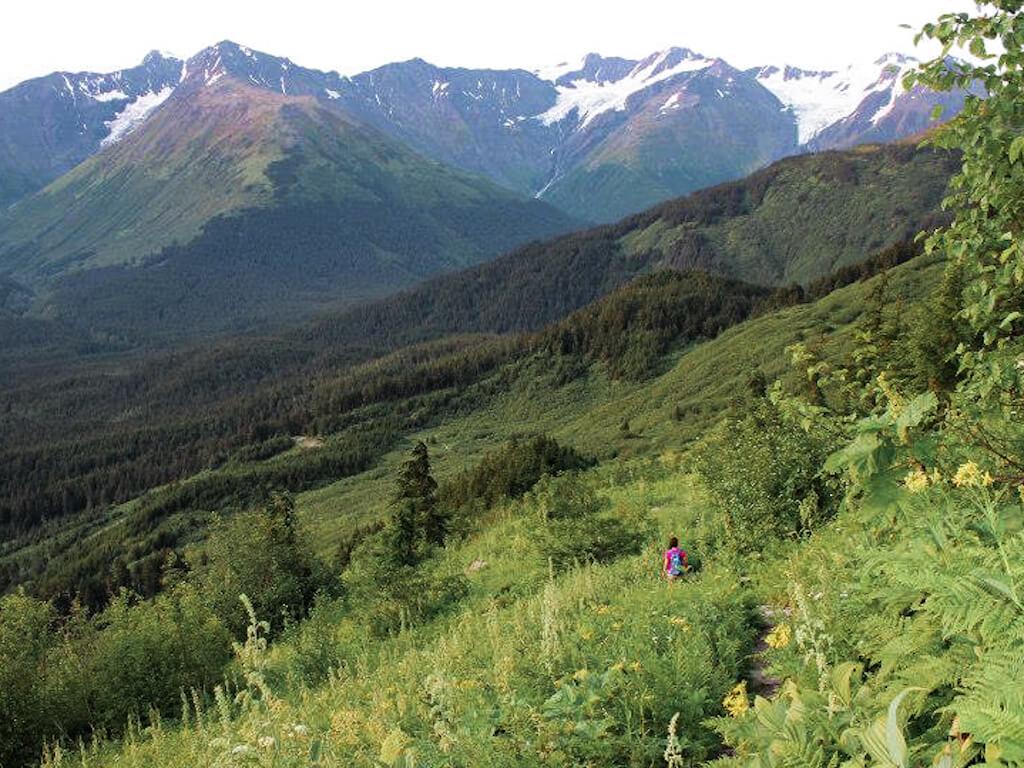 North Face Alyeska Best Hikes in Girdwood Alaska