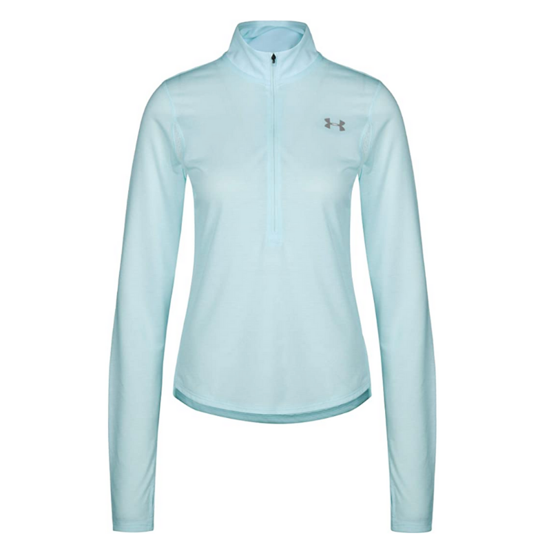Under Armour Half Zip Long Sleeve Top Hiking in Alaska