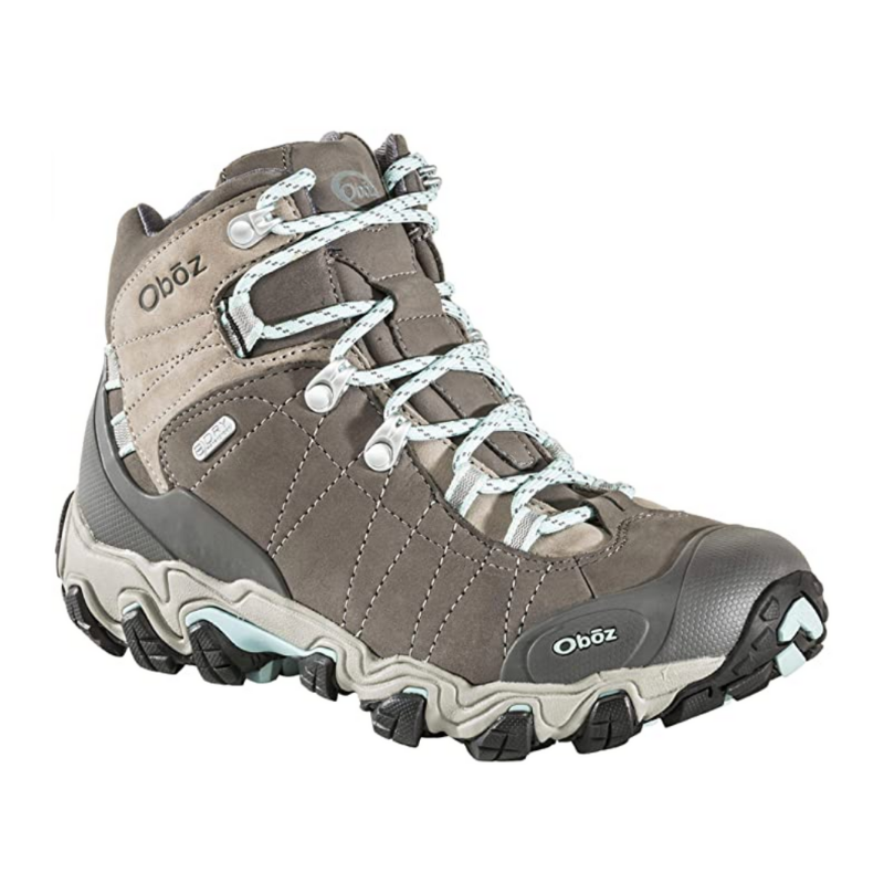 Oboz Oboz Bridger Mid B-Dry Womens Hiking Boot What to Wear Hiking in Alaska