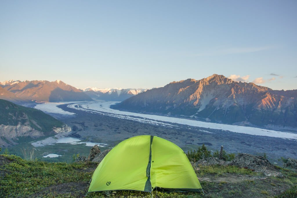 Camp and Hike Lions Head Mountain in Alaska