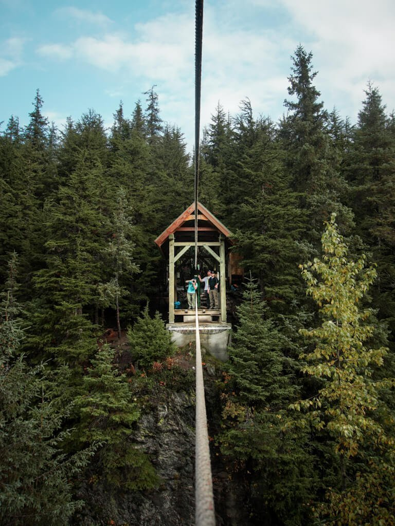 Winner Creek Trail Tram Girdwood Alaska Hike