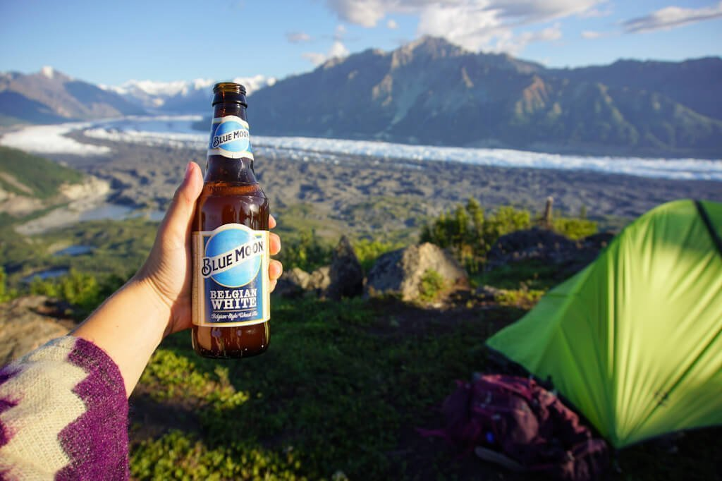 Lions Head Trail Beer Matanuska Glacier