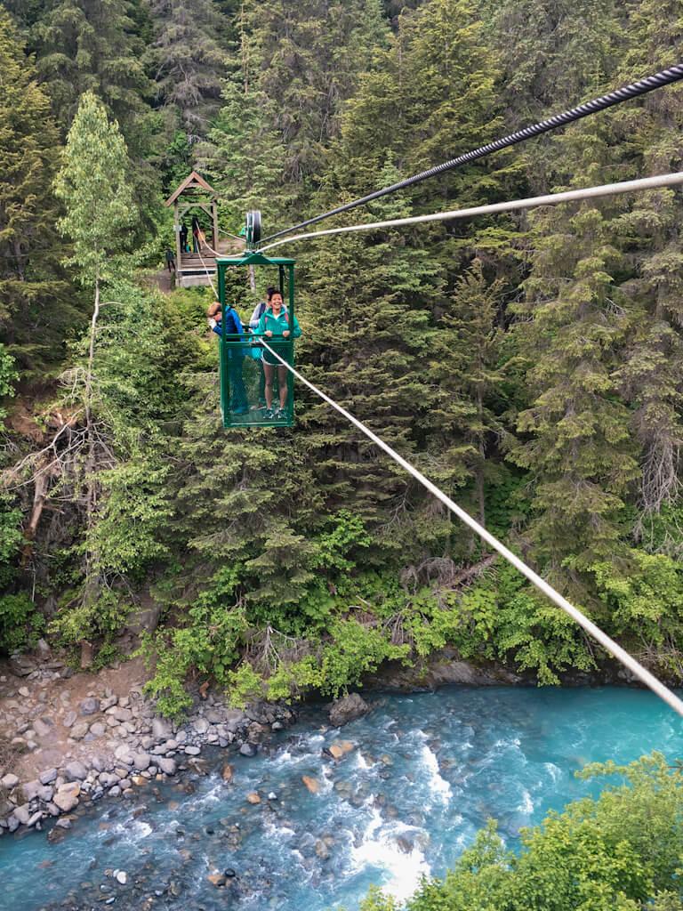Winner Creek Tram Girdwood Hike Alaska