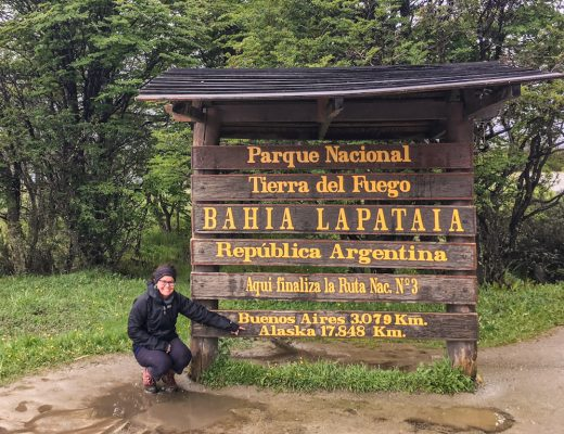 Finding myself at the end of the world tierra del fuego