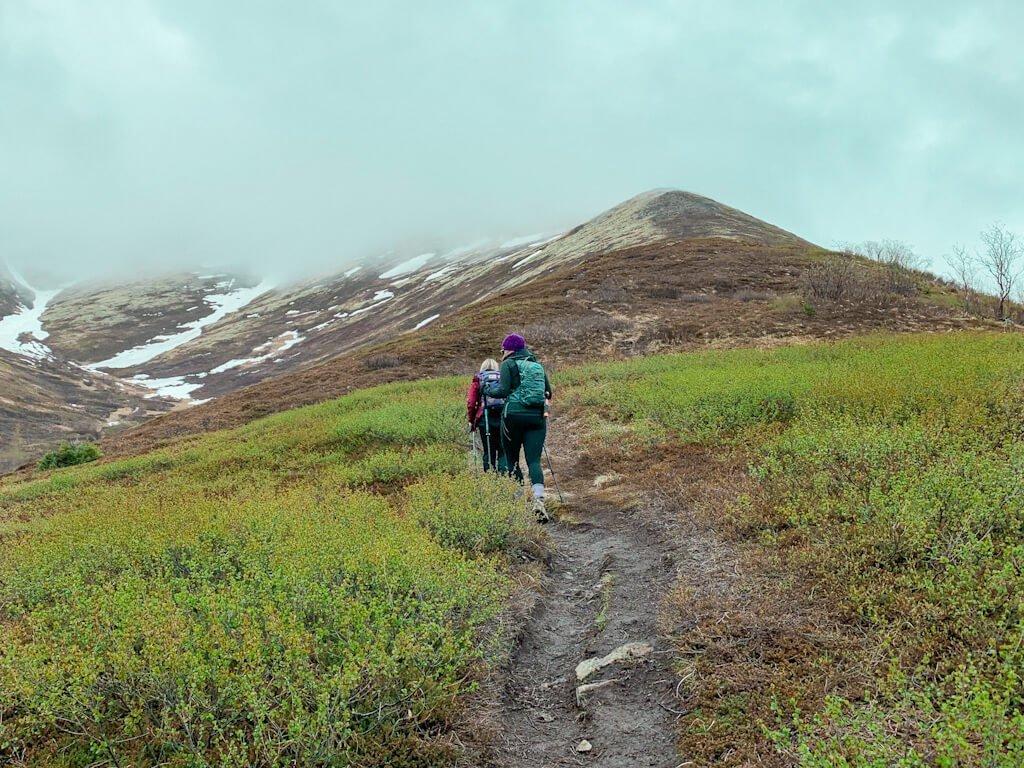Hike Harp Mountain in Eagle River Alaska
