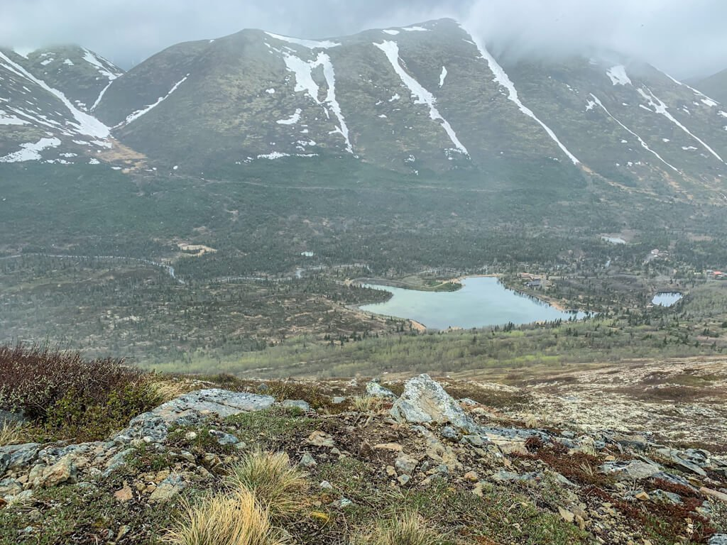 Harp Mountain Hike Eagle River Alaska