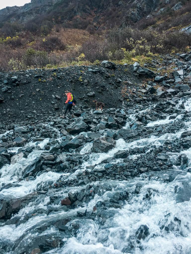Upper Winner Creek to Berry Pass Girdwood Alaska