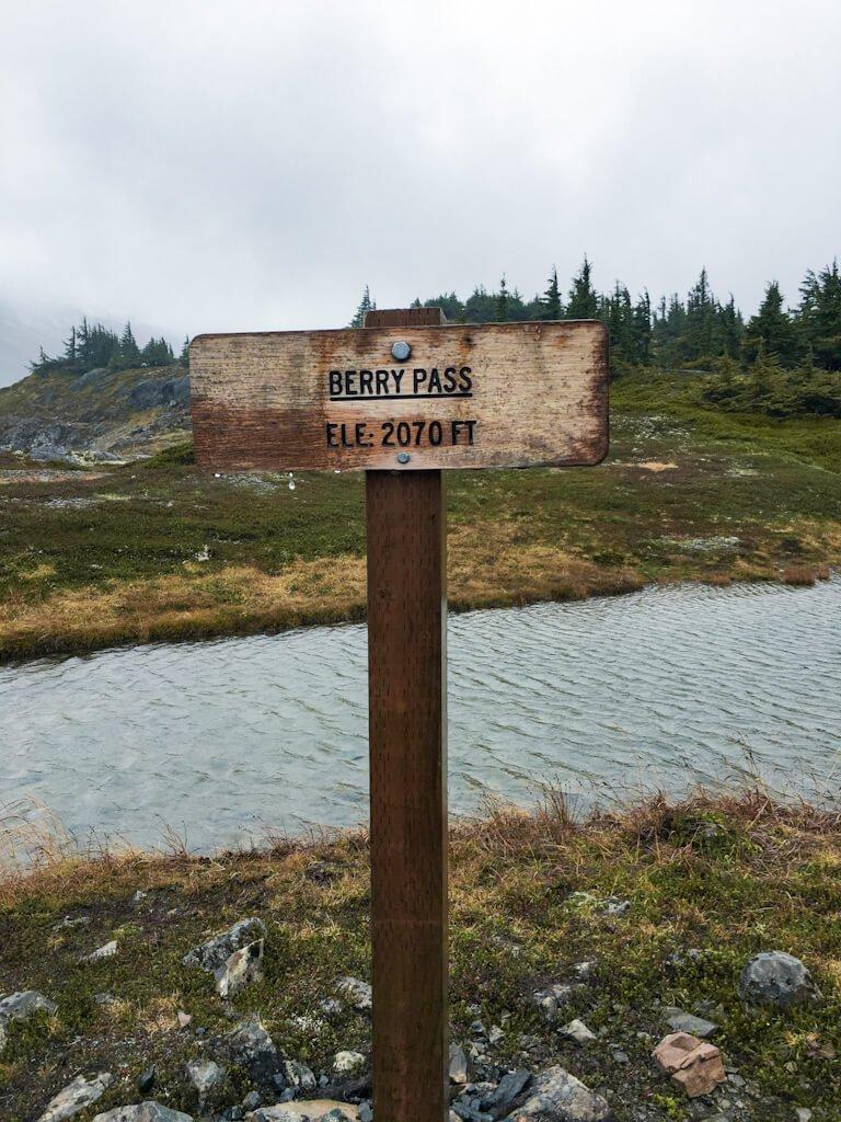 Berry Pass Girdwood Alaska